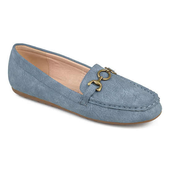 Journee Collection Womens Embry Loafers Slip-on Round Toe