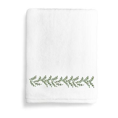 Linum Home Textiles Autumn Leaves Bath Towels