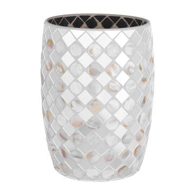 Queen Street Mercer Mosaic Waste Basket