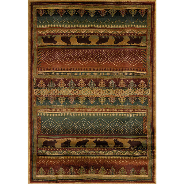 United Weavers Genesis Collection Bearwalk Rectangular Rug