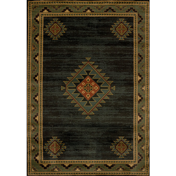 United Weavers Genesis Collection Laramie Hunter Rectangular Rug