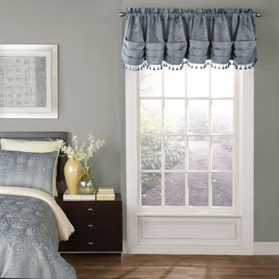 Beautyrest Avignon Rod-Pocket Scallop Valance