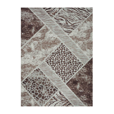 Concord Global Trading Matrix Collection Lynx Area Rug