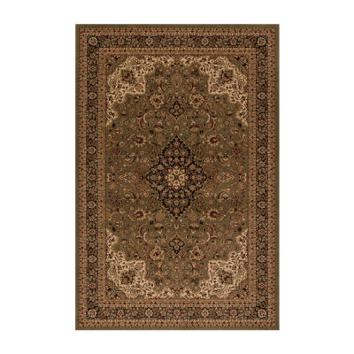Concord Global Trading Persian Classics CollectionMedallion Kashan Area Rug