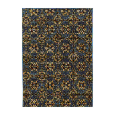 Covington Home Aurora Panel Rectangular Rugs