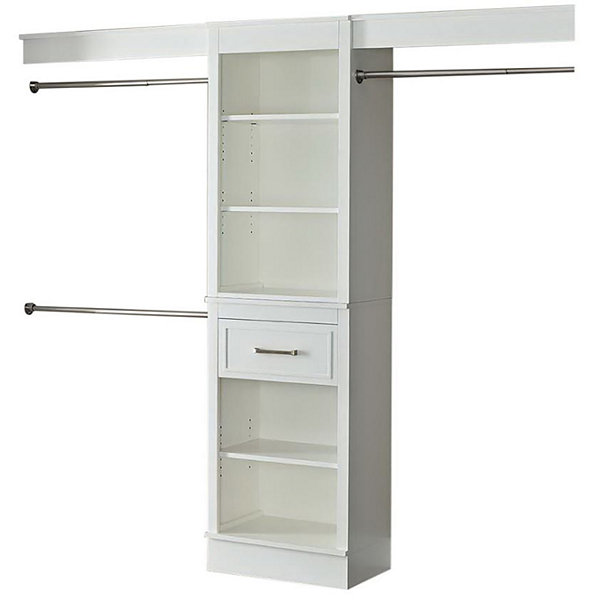 "French Heritage 96"" Closet Storage System"