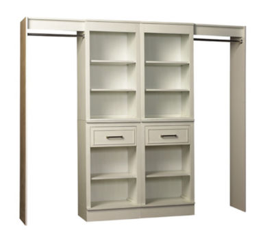 """French Heritage 96"""" Double Closet Storage System"""