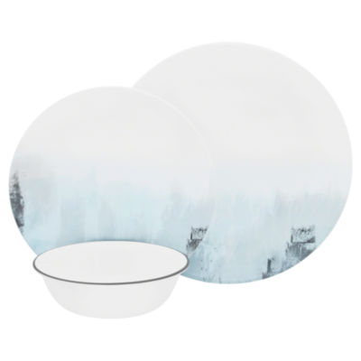 CORELLE TRANQUIL REFLECTIONS 12PC SET  sc 1 st  JCPenney : jcpenney corelle dinnerware - pezcame.com
