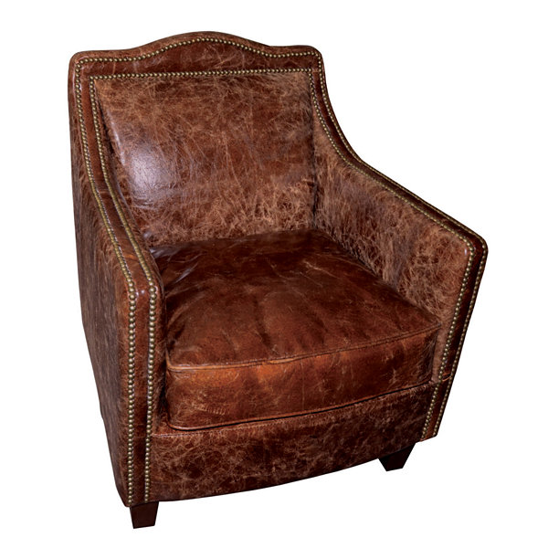 """Danielle Leather Accent Chair"