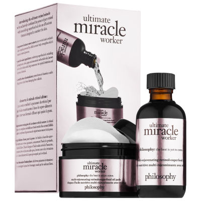 philosophy Ultimate Miracle Worker Multi-Rejuvenating Retinol + Superfood Oil and Pads