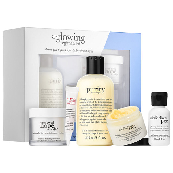 philosophy A Glowing Regimen Set
