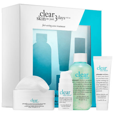 philosophy Clear Skin In Just 3 Days Trial Set