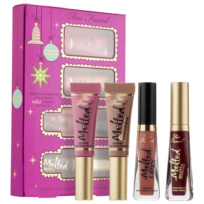 Too Faced Under The Kissletoe The Ultimate Liquified Lipstick Set