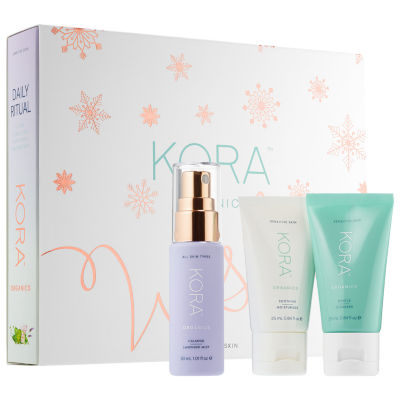 KORA Organics Daily Ritual Kit for Sensitive Skin