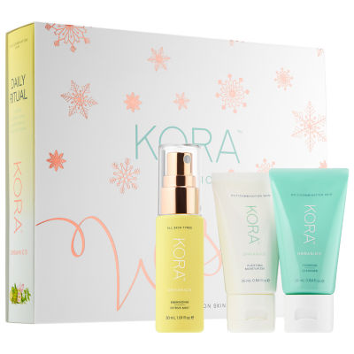 KORA Organics Daily Ritual Kit for Oily/Combination Skin