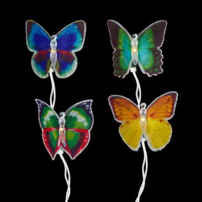 Kurt Adler Fiber-Optic Butterfly Light Set