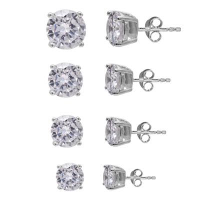 Silver Treasures Silver Treasures Sterling Silver 5mm Round Stud Earrings