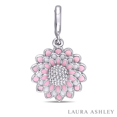 Laura Asley Flower Collection Sterling Silver Charm