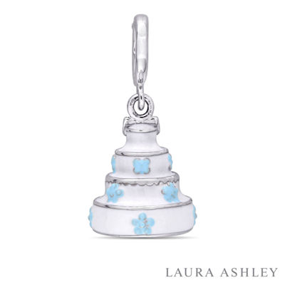 Laura Ashley Tea Party Collection Sterling Silver Charm