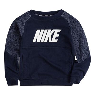 Nike Long Sleeve Sweatshirt - Toddler Boys