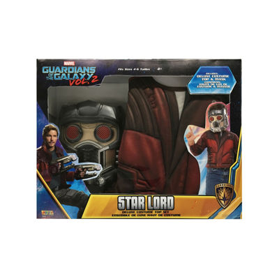Guardians Of The Galaxy Boys Star Lord Muscle Chest Shirt Set