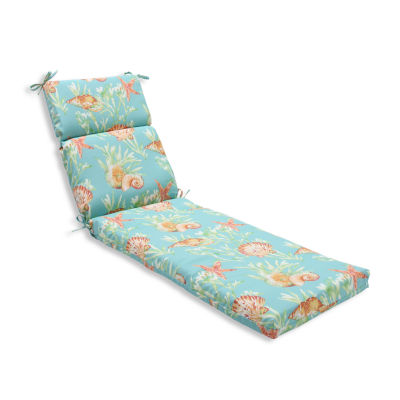 Pillow perfect chaise lounge cushion jcpenney for Aqua chaise lounge cushions