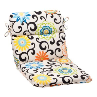 Pillow Perfect Rounded Corners Chair Cushion