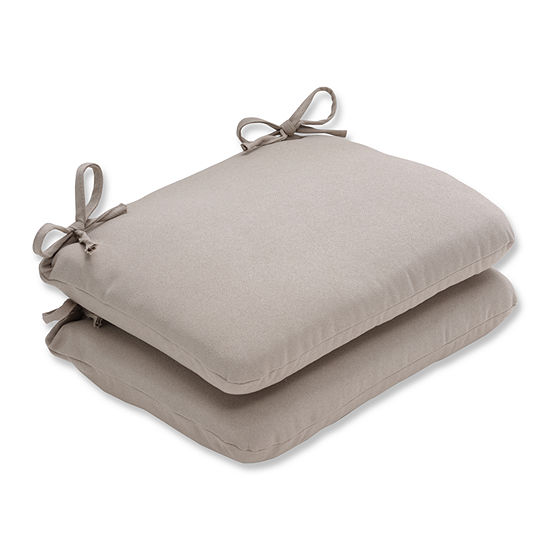Pillow Perfect Rounded Corners Seat Cushion Set Of 2