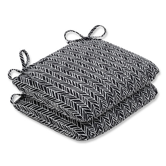 Pillow Perfect Rounded Corners Seat Cushion (Set of 2)