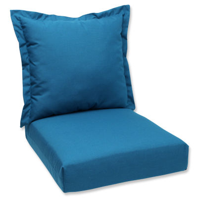 Pillow Perfect Deep Seating Cushion and Back Pillow
