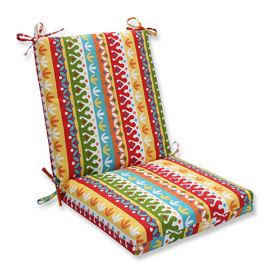 Pillow Perfect Squared Corners Chair Cushion
