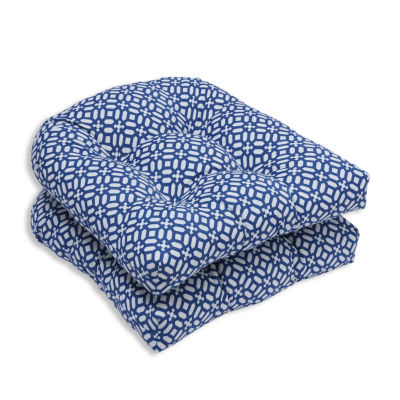 Pillow Perfect Wicker Seat Cushion (Set of 2)