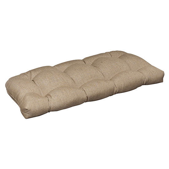 Pillow Perfect Wicker Loveseat Cushion