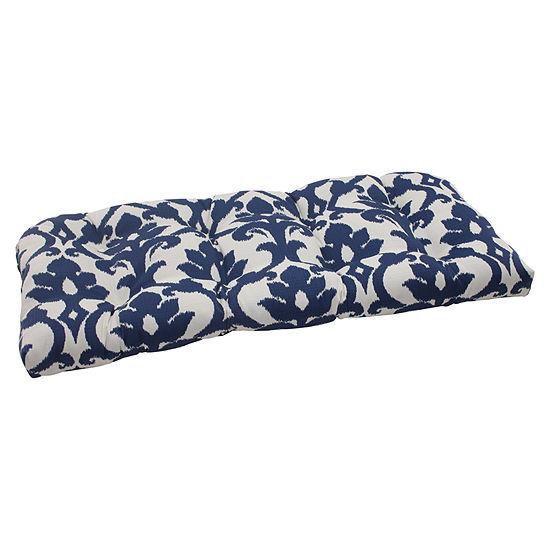 Pillow Perfect Wicker Loveseat Cushion