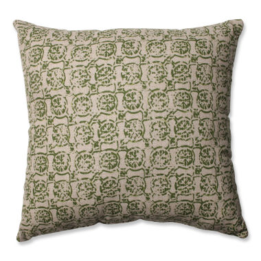 Pillow Perfect Castille Olive Throw Pillow