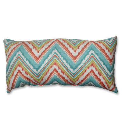 Pillow Perfect Chevron Cherade Pillow