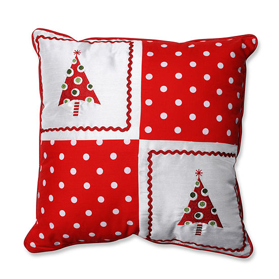 Pillow Perfect Christmas Trees 16.5-inch Throw Pillow