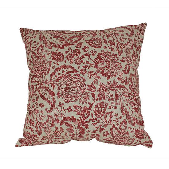 Pillow Perfect Fairhaven Damask Pillow