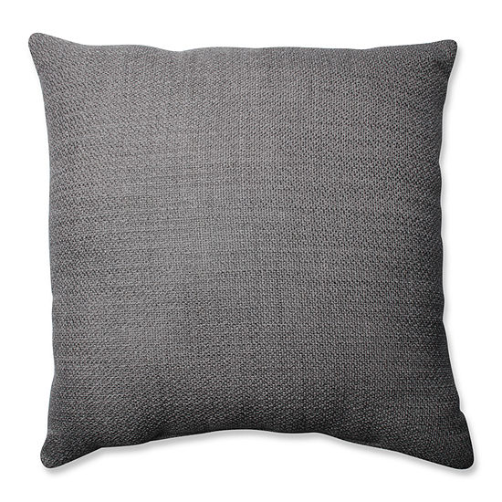 Pillow Perfect Future Smoke 24.5-inch Floor Pillow