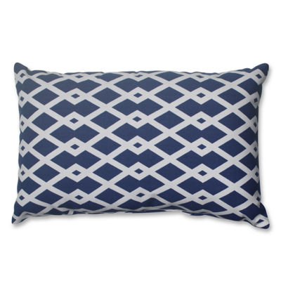Pillow Perfect Graphic Ultramarine Pillow
