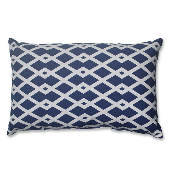 Pillow Perfect Graphic Ultramarine Pillow