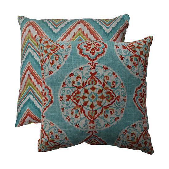 Pillow Perfect Rodrigo Graphite Rectangle Throw Pillow