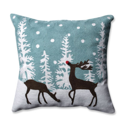 Pillow Perfect Rudolph Frost 16.5-inch Throw Pillow