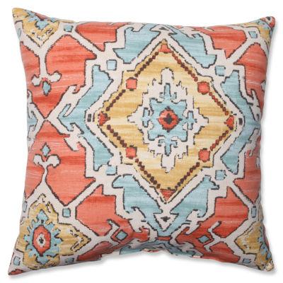 Pillow Perfect Sundance Tangerine Pillow