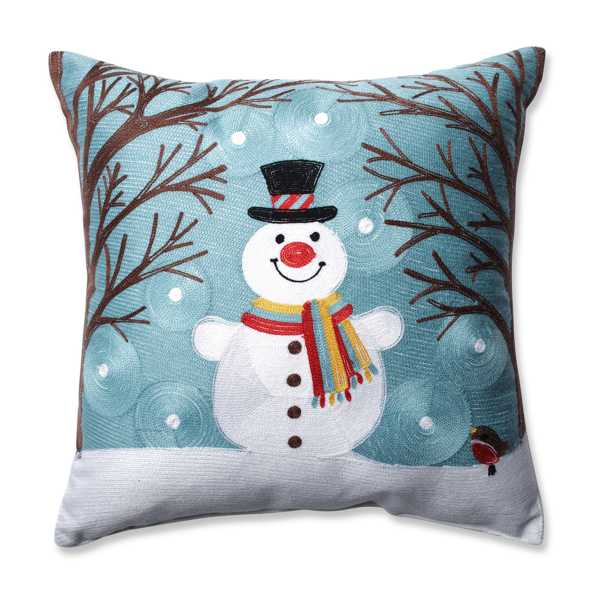 UPC 751379600079 product image for Pillow Perfect Winter Wonderland Frost 16.5-inch Throw Pillow | upcitemdb.com