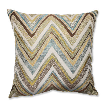 Pillow Perfect Zig Zag Capri Throw Pillow