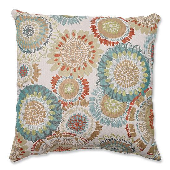 Pillow Perfect Maggie Mae Aqua Pillow