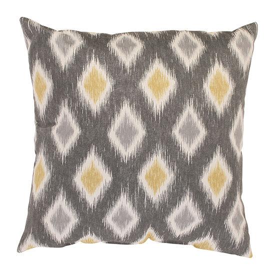 Pillow Perfect Rodrigo Graphite Throw Pillow