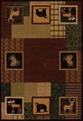 United Weavers Contours Donna Sharp Collection Corbin Square Rectangular Rug