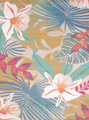 United Weavers Regional Concepts Collection Flower Jungle Rectangular Rug